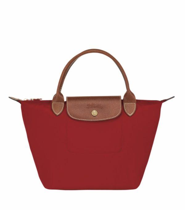 LONGCHAMP le pliage original sac porté main S Rouge