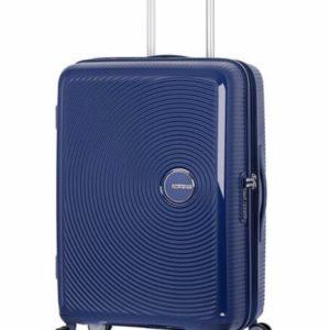 AMERICAN TOURISTER Soundbox Valise 4 roues Extensible 67cm Bleu marine foncé