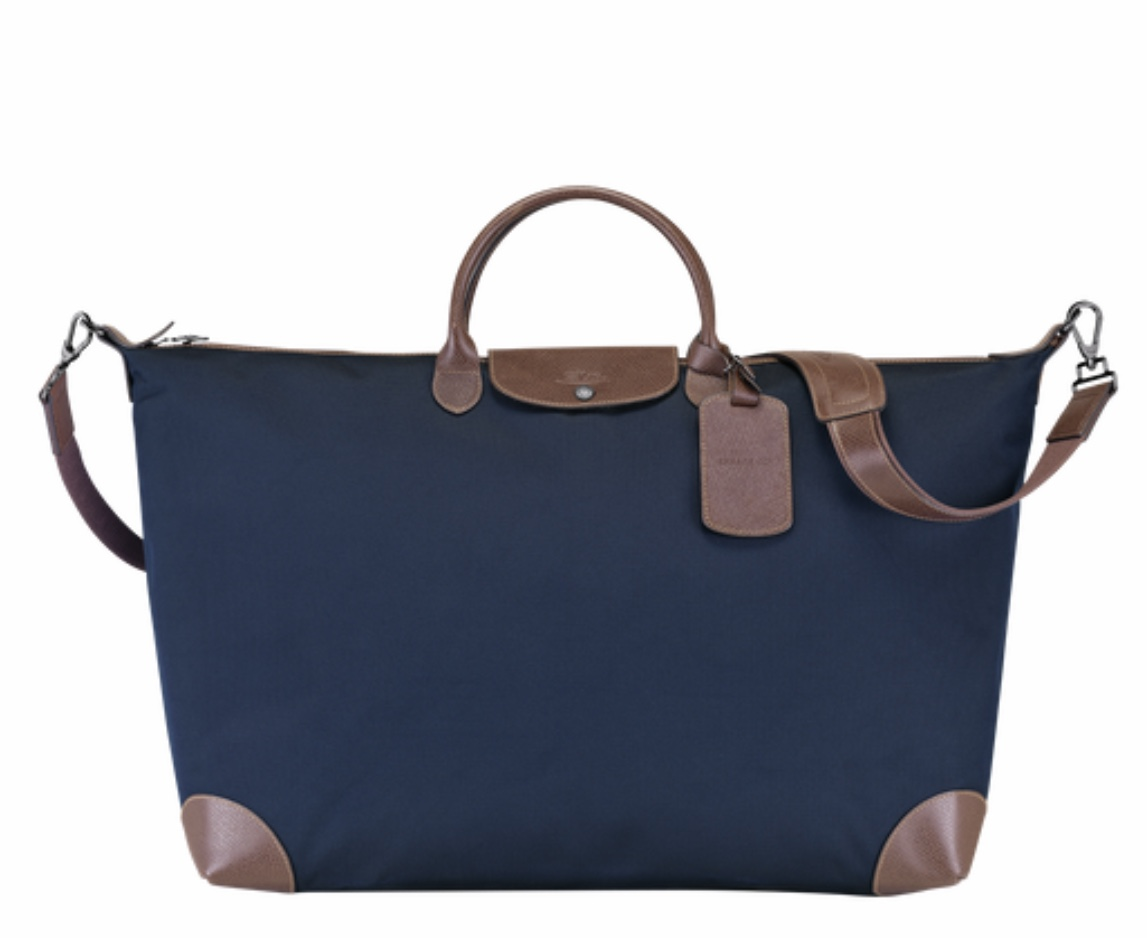 LONGCHAMP BOXFORD sac de voyage XL Bleu